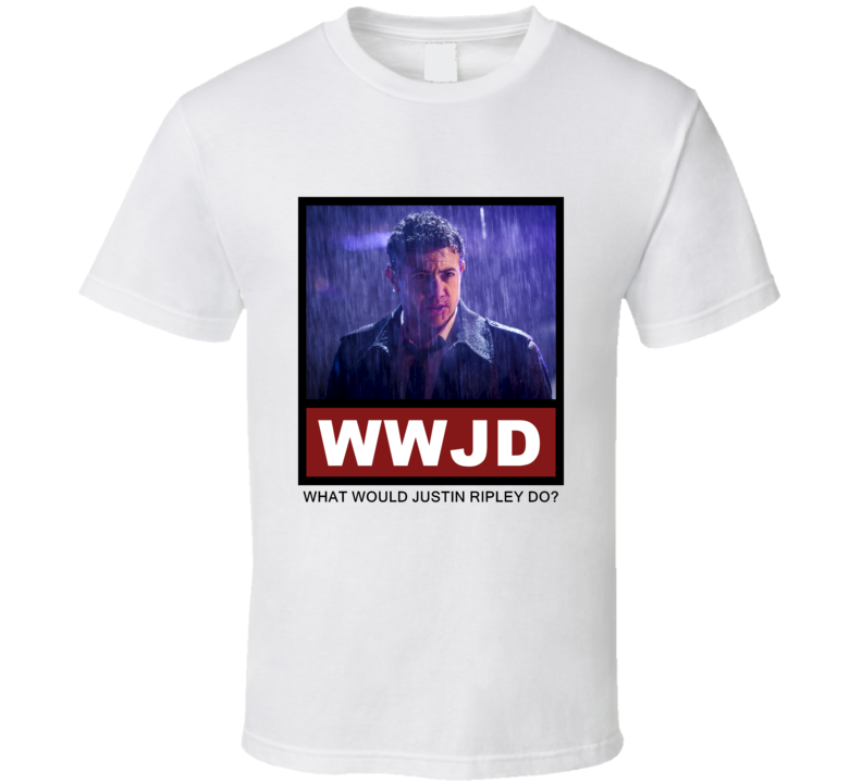 What Would Justin Ripley Do WWJD Luther T Shirt