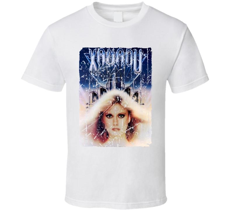Xanadu Movie Poster Retro Aged Look T Shirt