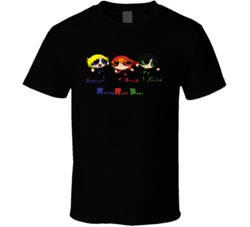 Rowdy Ruff Boys Names Black T Shirt