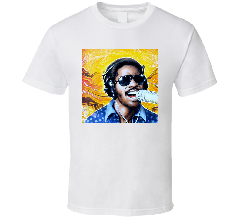 Stevie Wonder Motown Legend T Shirt T shirt