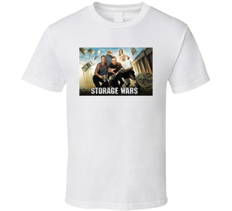 Storage Wars Group Shot T shirt