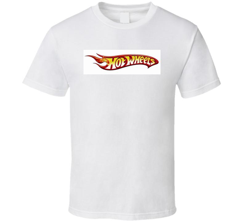 Hot Wheels Logo T shirt