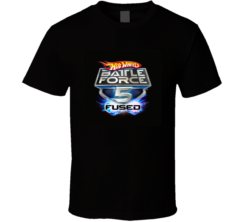 Hot Wheels Battle Force 5 Fused Black T shirt