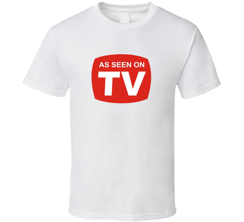 As Seen On Tv Funny Tv Ad Retro Adult Humor T shirt