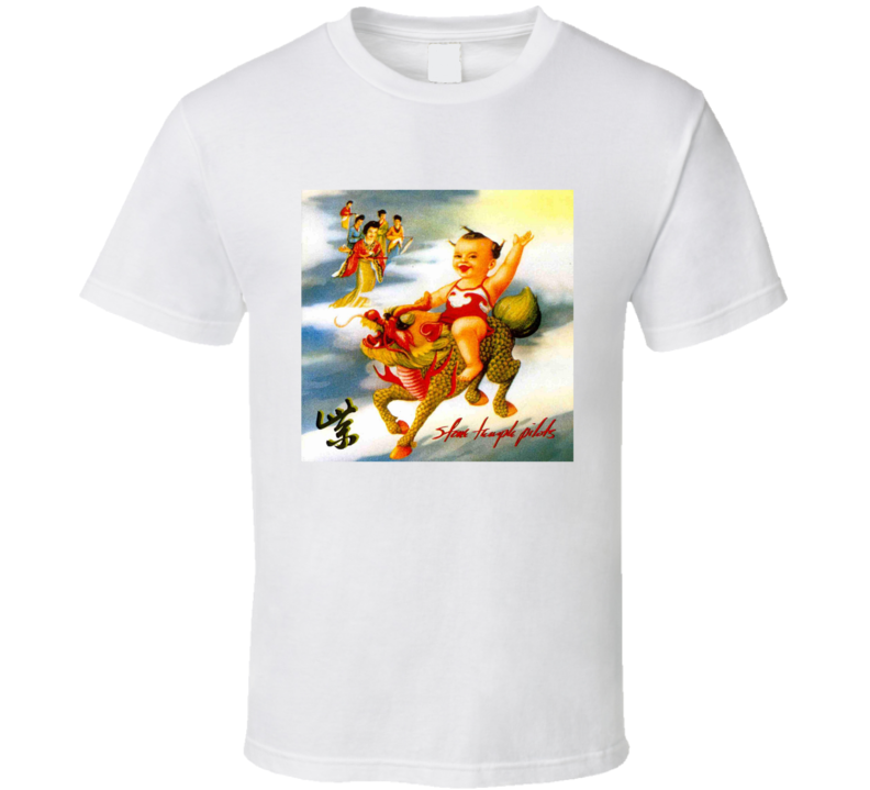 Stone Temple Pilots Rock White T Shirt