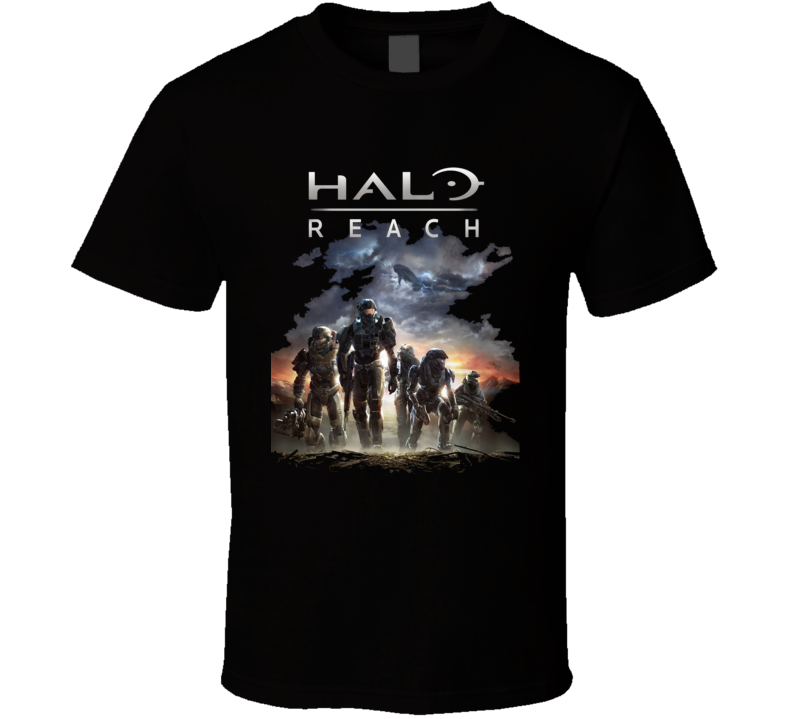 Xbox 360 Gaming Halo Reach Video Game T Shirt