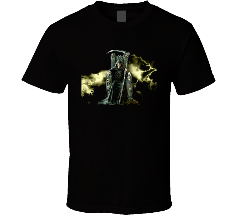 Cool Skeleton Skulls Graphics T Shirt