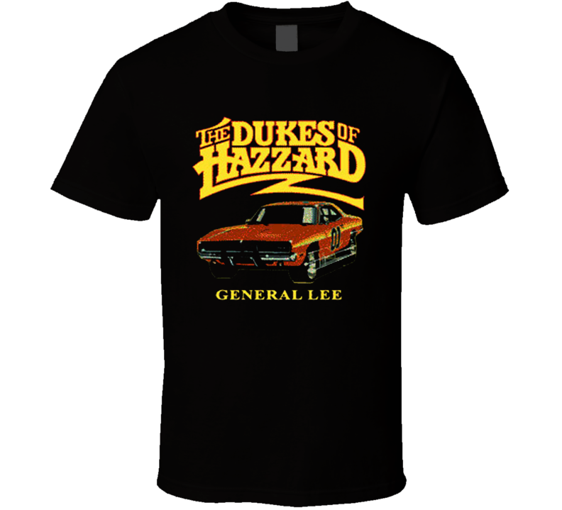 Dukes of Hazzard General Lee Car T Shirt