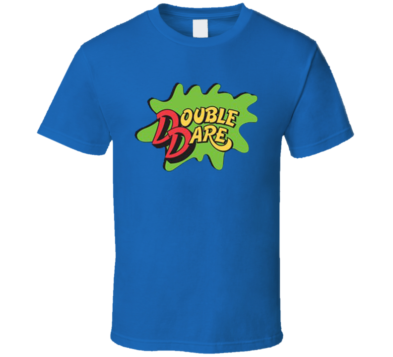 NEW Double Dare Logo Blue Costume T Shirt