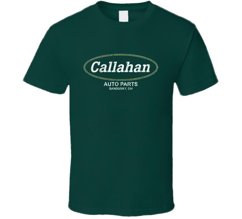Callahan Auto Parts Retro Vintage Tommy Boy Funny T Shirt