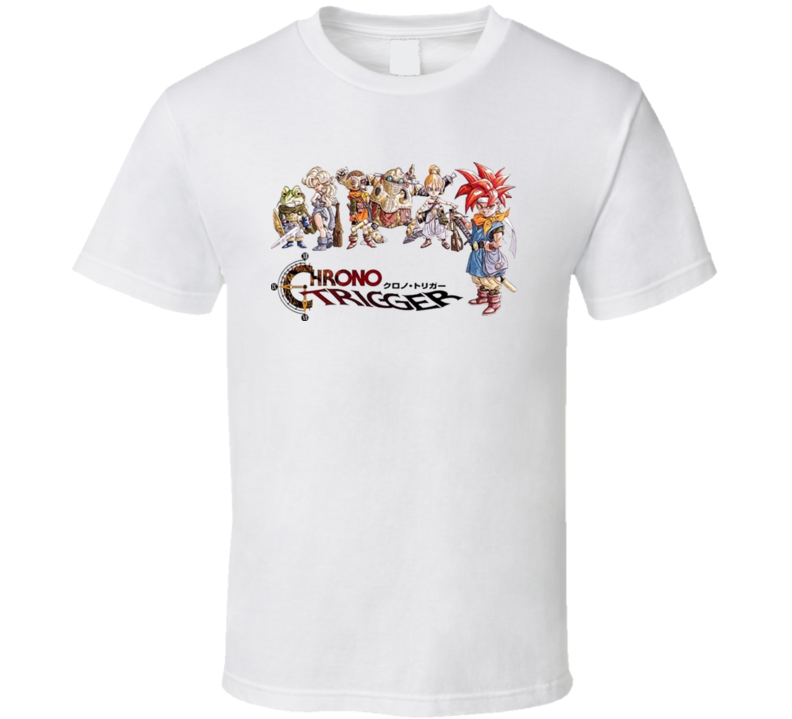 Chrono Trigger DS Super Nintendo T Shirt