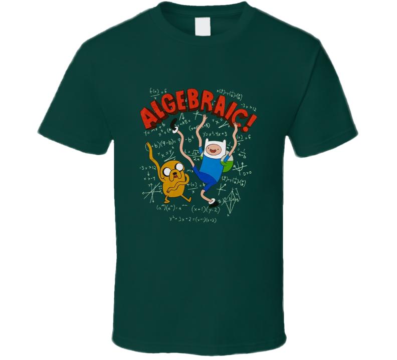 Adventure Time Algebraic Finn And Jake Cartoon T Shirt