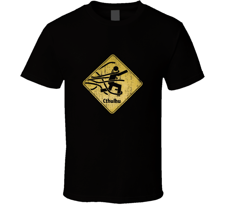 Cthulhu Lovecraft Mythos Call Geek Cool T Shirt