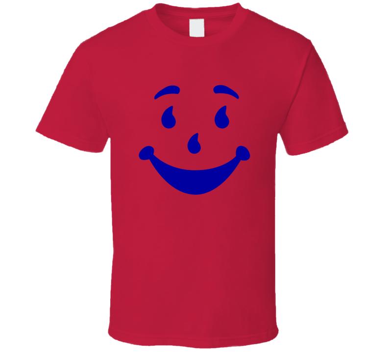Funny Kool Aid Man Ooooh Yeah Drink Vintage Retro T Shirt