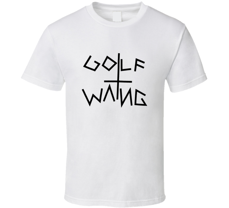 Golf Wang Wolf Gang Tyler Creator Odd Future OF WMU-22 OFWGKTA White T Shirt