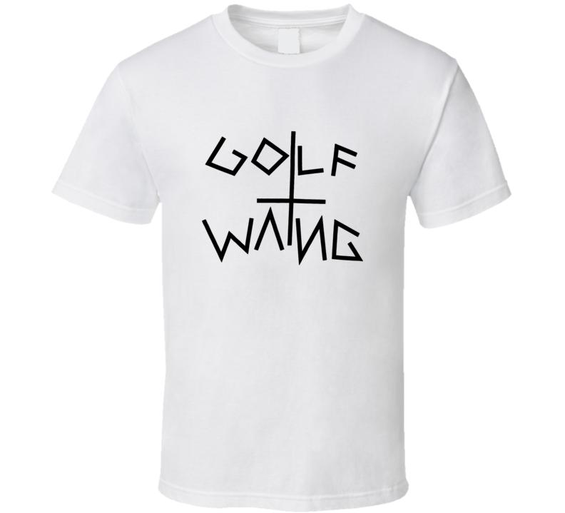 Golf Wang Wolf Gang Tyler Creator Odd Future OF WMU-22 OFWGKTA White T Shirt