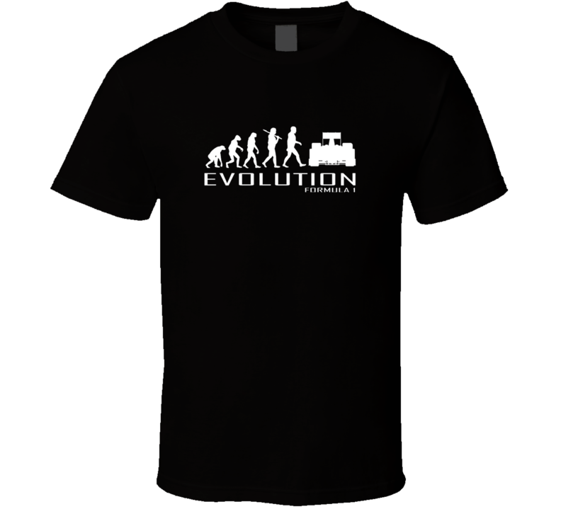 Formula 1 F1 Racing Ape To Evolution Cars T Shirt
