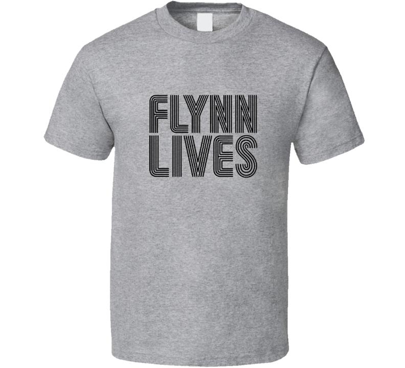Tron Flynn Lives Beyaz T Shirt