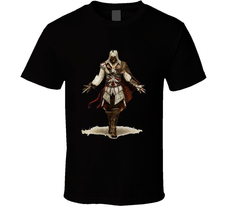 Assassin's Creed 2 Brotherhood Xbox 360 Ps3 Black T Shirt