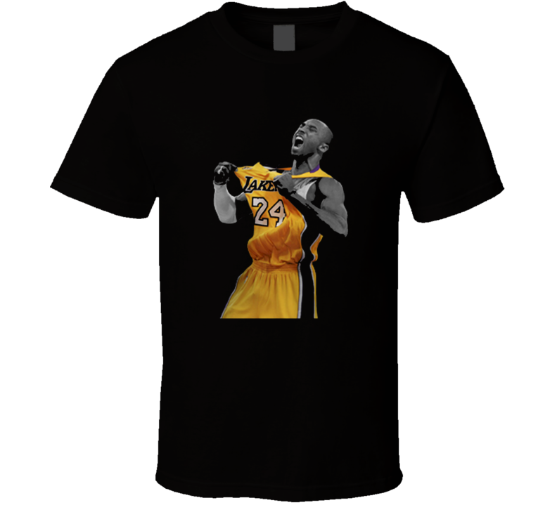 Kobe Bryant LA Lakers Basketball NBA T Shirt
