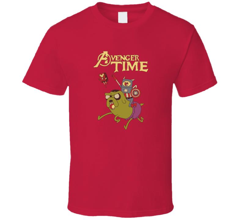 Avenger Time Dancing Finn and Jake Adventure Time T Shirt