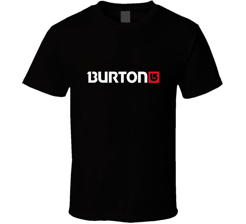 Burton Arrow Logo Snowboards T Shirt