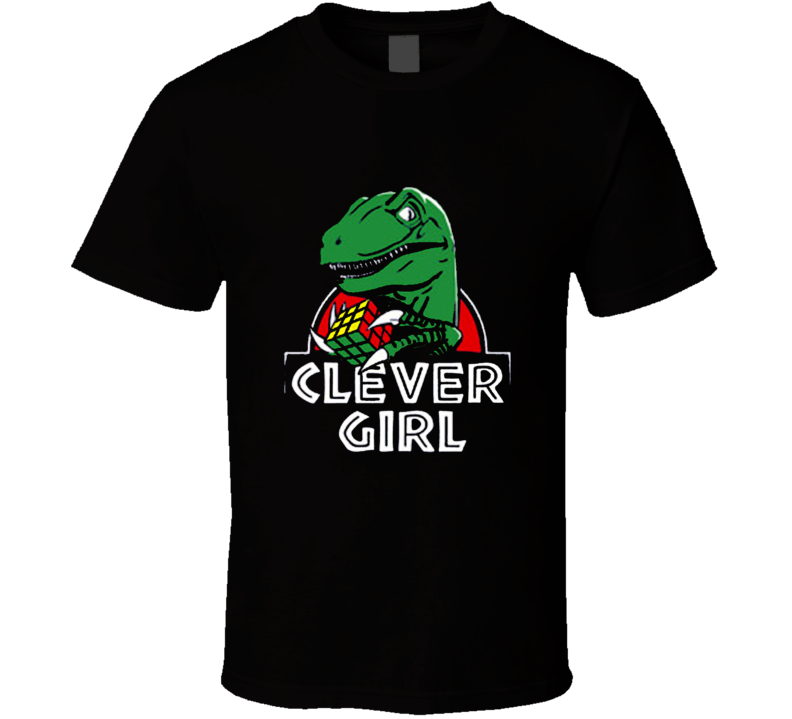 Clever Girl Jurassic Park Movie T Shirt