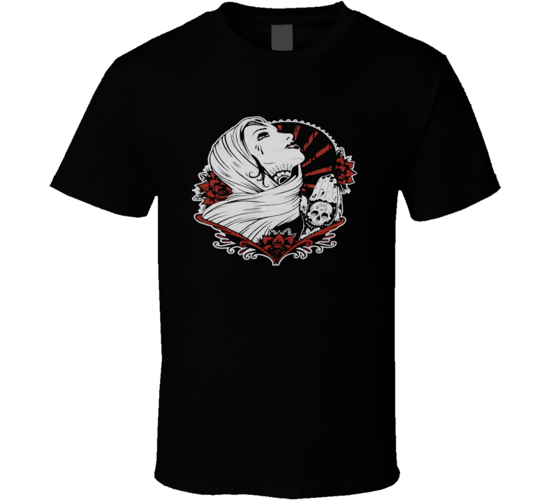 Day Of The Dead Catrina FATAL T Shirt