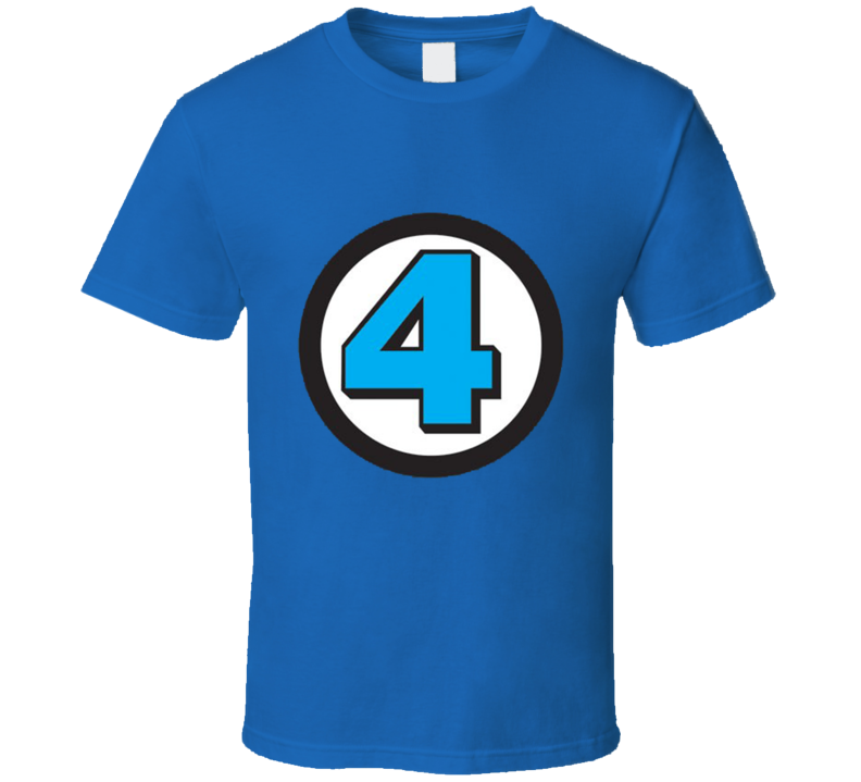 Fantastic 4 Logo Costume T Shirt