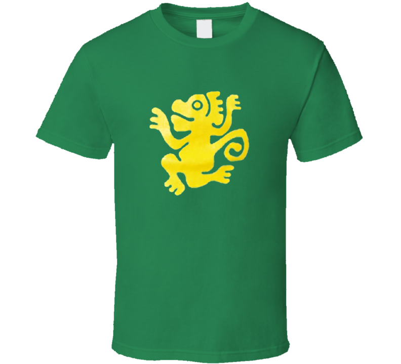 Green Monkeys Legends of the Hidden Temple Movie T Shirt