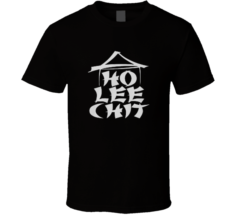 HO LEE CHIT Adult Holy Funny asian buffet ninja T Shirt