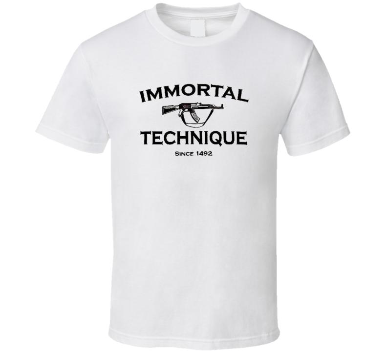 IMMORTAL TECHNIQUE T Shirt