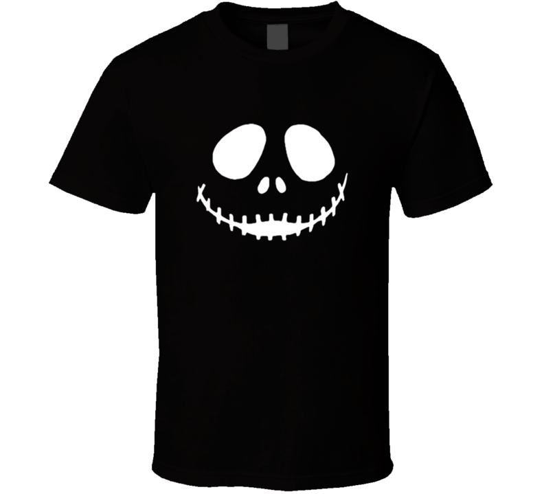 JACK SKELLINGTON SKULL FACE T Shirt