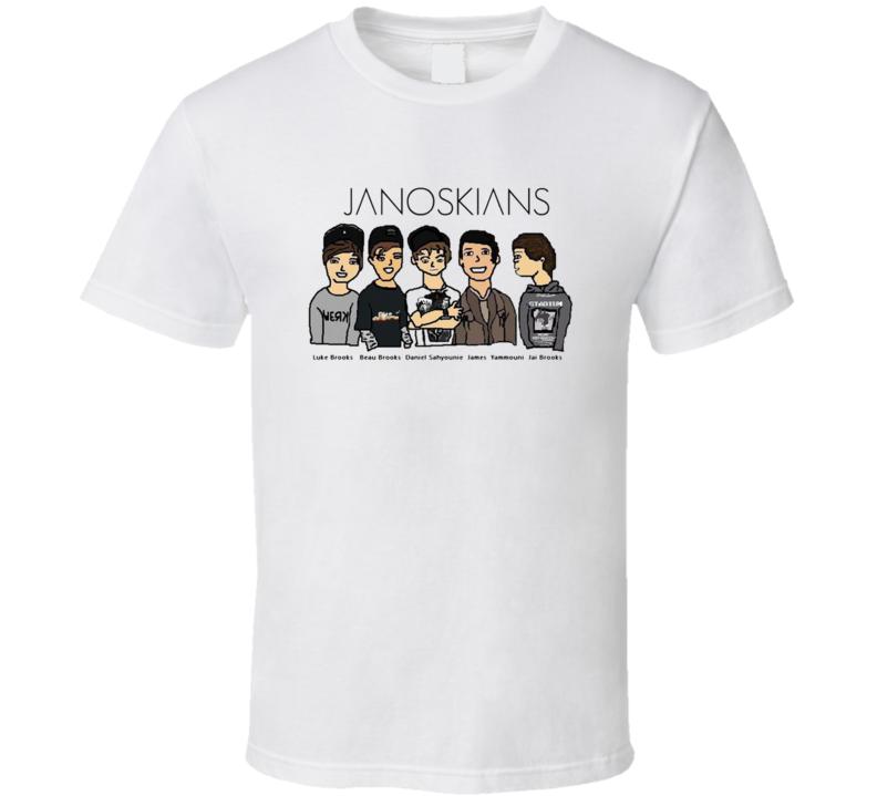 JANOSKIANS Youtuber white The Janoskian T Shirt