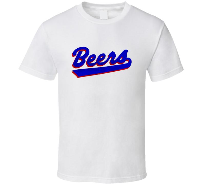 Joe Coop Cooper Beers Jersey Baseketball T Shirt