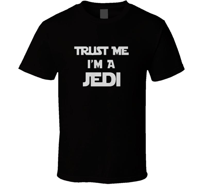 Trust Me I'm a Jedi Yoda Ninja Funny Star Wars T Shirt
