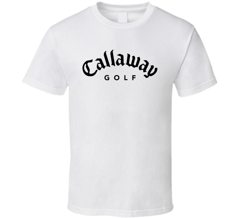 Callaway Golf Logo Clubs T Shirt
