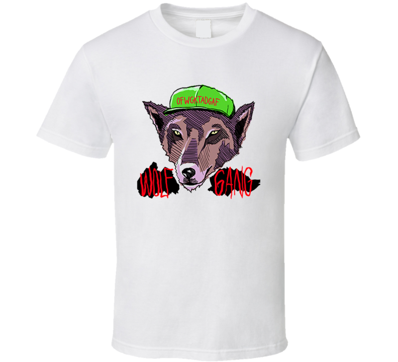 Ofwgkta Odd Future Wolf Gang Kill Them All Wolf Head Logo T Shirt