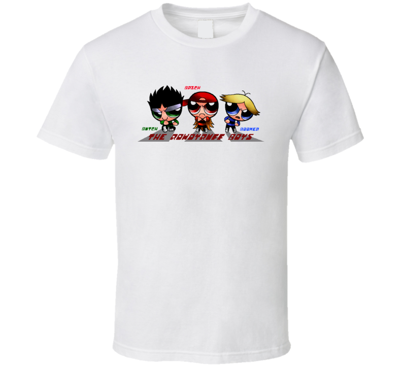 Rowdy Ruff Boys Names 2 T Shirt