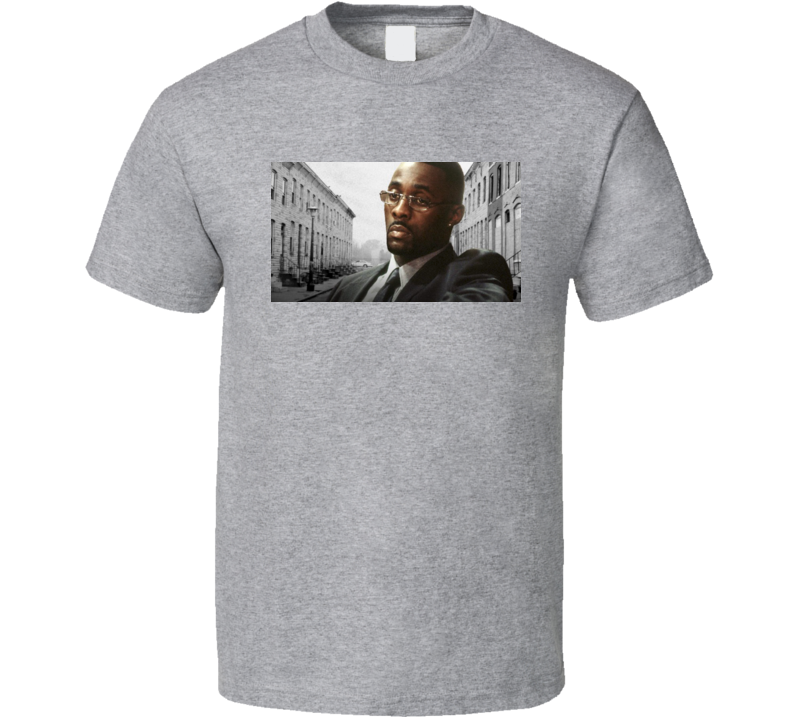 The wire TV Show HBO Stringer Bell Sport Grey T Shirt
