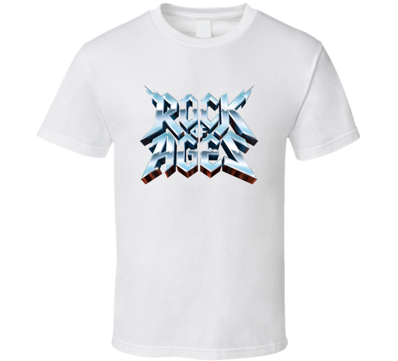 Rock of Ages Musical White T Shirt