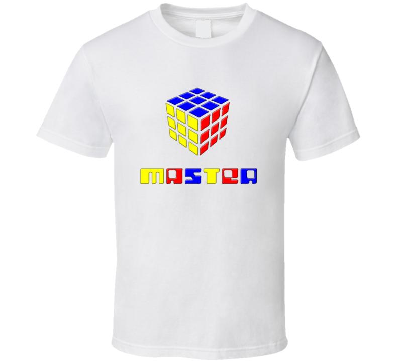 Rubiks Cube 80s retro T Shirt