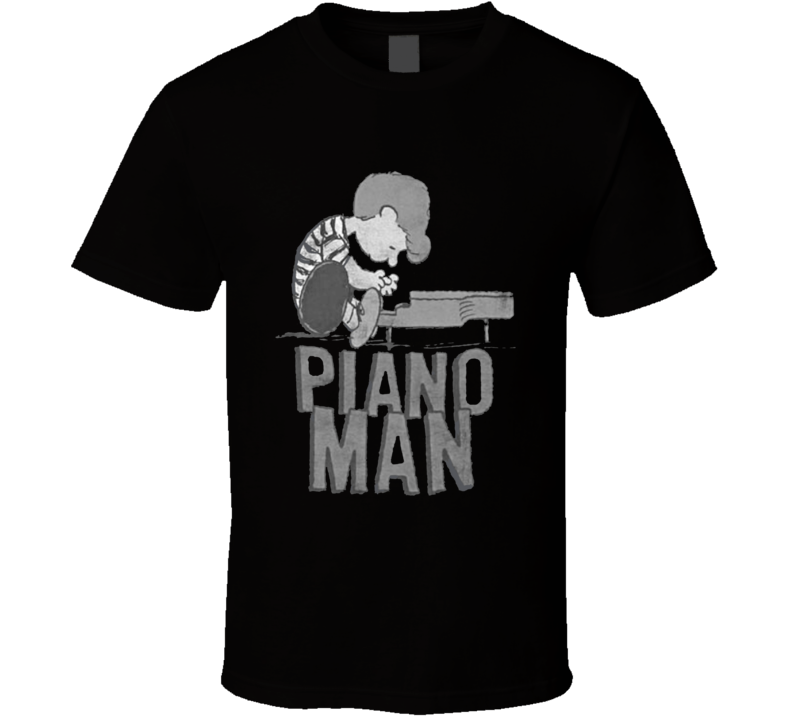 Piano Man - Peanuts Schroeder at the piano T Shirt