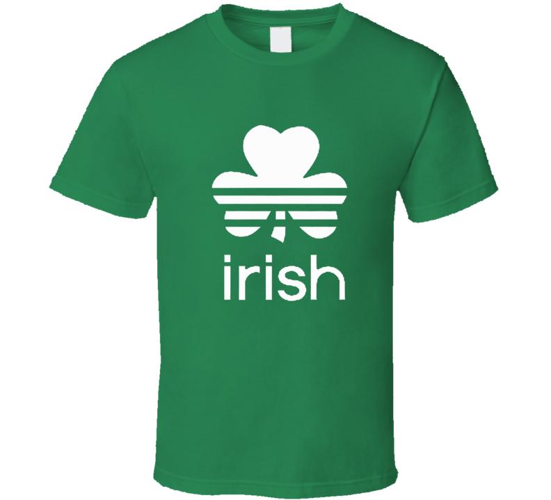ST PATRICK'S DAY FUNNY IRISH SOCCER T Shirt