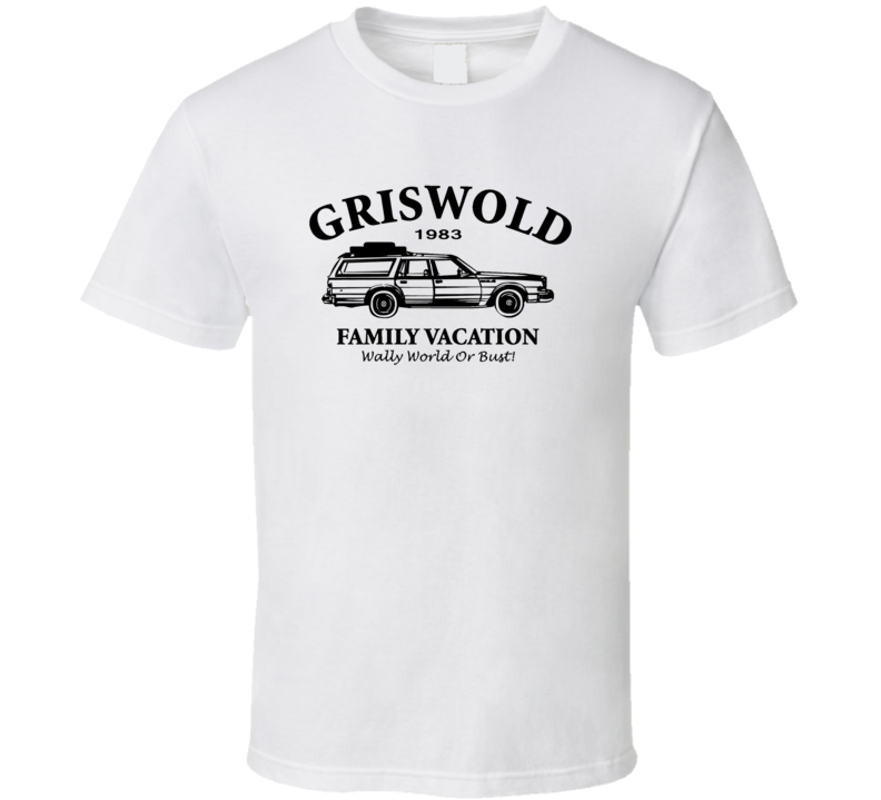 Griswold Family Vacation Funny Humor Movie Tee T Shirt