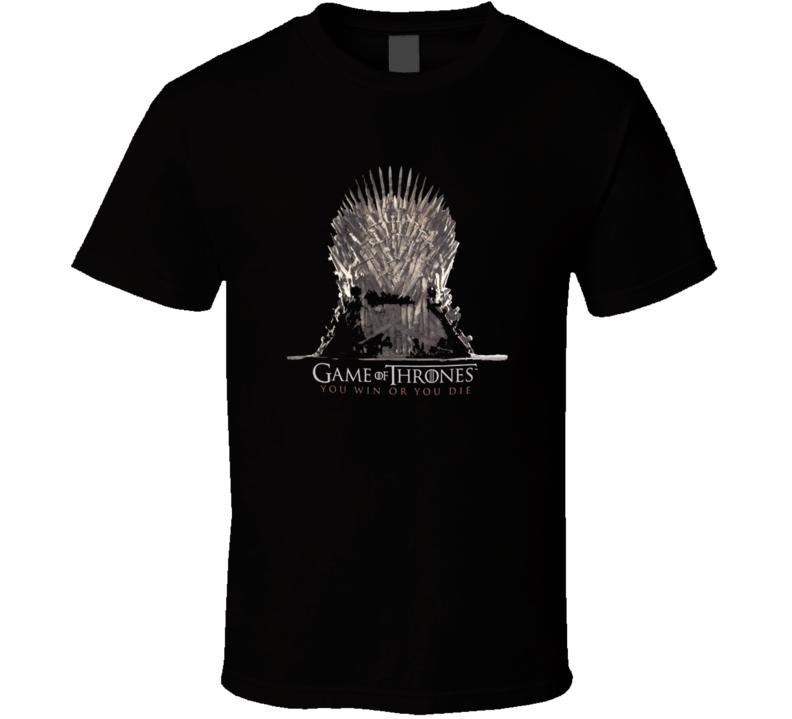Iron Throne - Game Of Thrones TV SERIES T Shirt