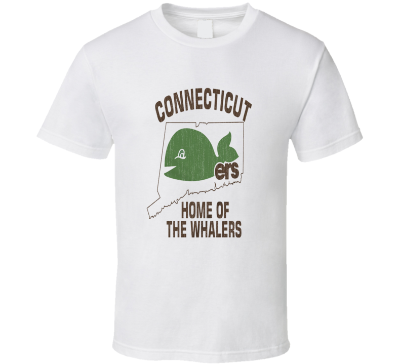 Connecticut Home Of The Whalers Hockey T Shirt