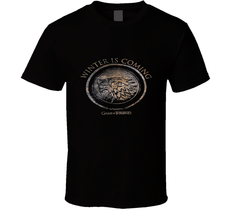 Winter Shield - Game Of Thrones TV Show Series T Shirt