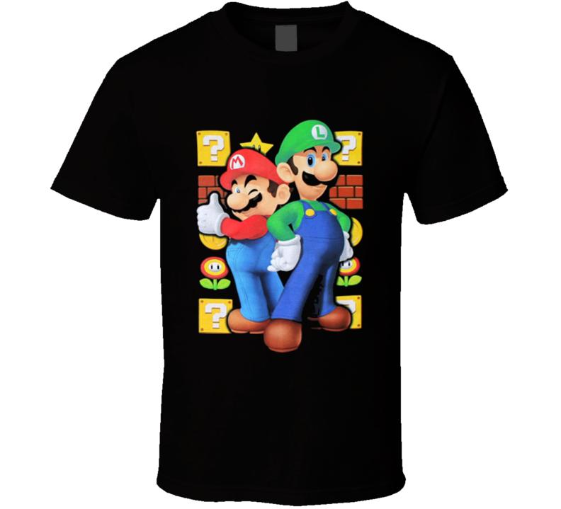 Mario And Luigi - Nintendo Youth T Shirt