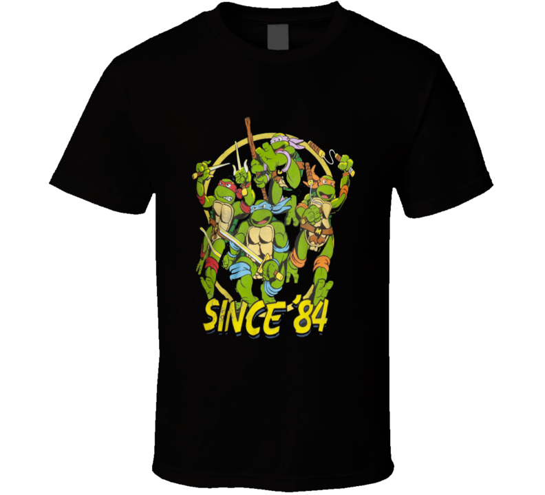 Ninja Turtles Attack T Shirt